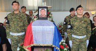 Posljednji ispraćaj smrtno stradalog razvodnika Darka Mujića