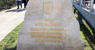 SPORTSKI CENTAR DOBIO IME HEROJA VOJNE POLICIJE 'Živimo u miru zahvaljujući junacima poput Ante Bužančića'