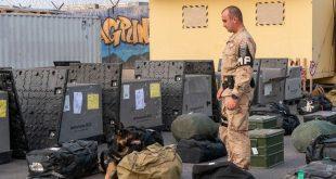 """Pripadnici vojne policije u sastavu 11. HRVCON u NATO misiji """"Odlučna potpora"""""""