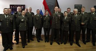 Načelnik GS OS RH u oproštajnom posjetu Pukovniji Vojne policije