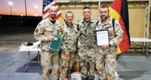 Američko odlikovanje hrvatskom časniku iz VP satniku Mariju Vukadinu u operaciji Inherent Resolve