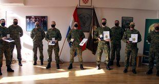 Svečanost uručenja zlatnih medalja pripadnicima Pukovnije vojne policije