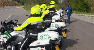Zajednička obuka motociklista MUP-a i Vojne policije