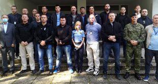Pripadnici Vojne policije na tečaju za osiguranje i zaštitu štićenih osoba u MUP-u