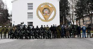 Ministar Banožić u Pukovniji vojne policije