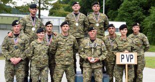 Pripadnici VP zauzeli izvrsno 3.mjesto na Prvenstvu Hrvatske vojske u streljaštvu